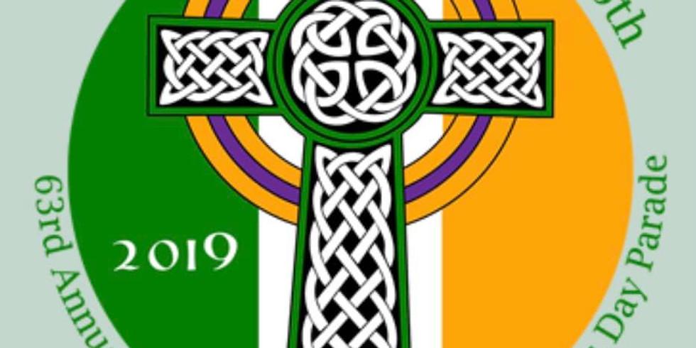 63rd Annual Newport RI St. Patrick's Day Parade