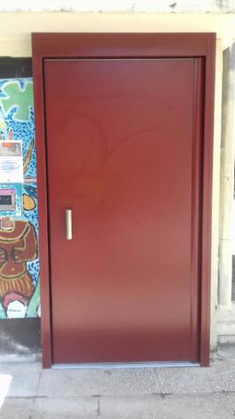 Nouvelles portes pour accès piétons !