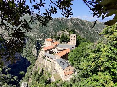 Clin d'œil sur... l'Abbaye Saint-Martin du Canigou