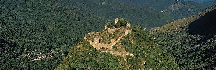 Châteaux d'Usson et de Lordat
