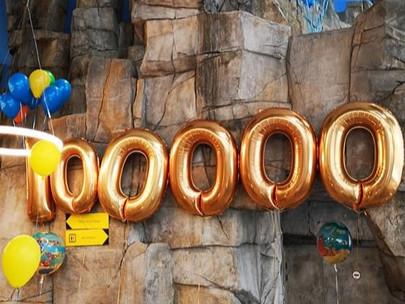 Plus de 100.000 visiteurs et un jeu-concours !