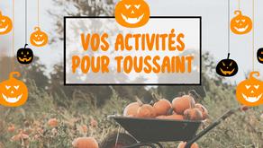 Des idées de sorties pour les vacances de Toussaint avec le Guide Loisirs !