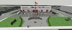 Memorial Wall Concept 2