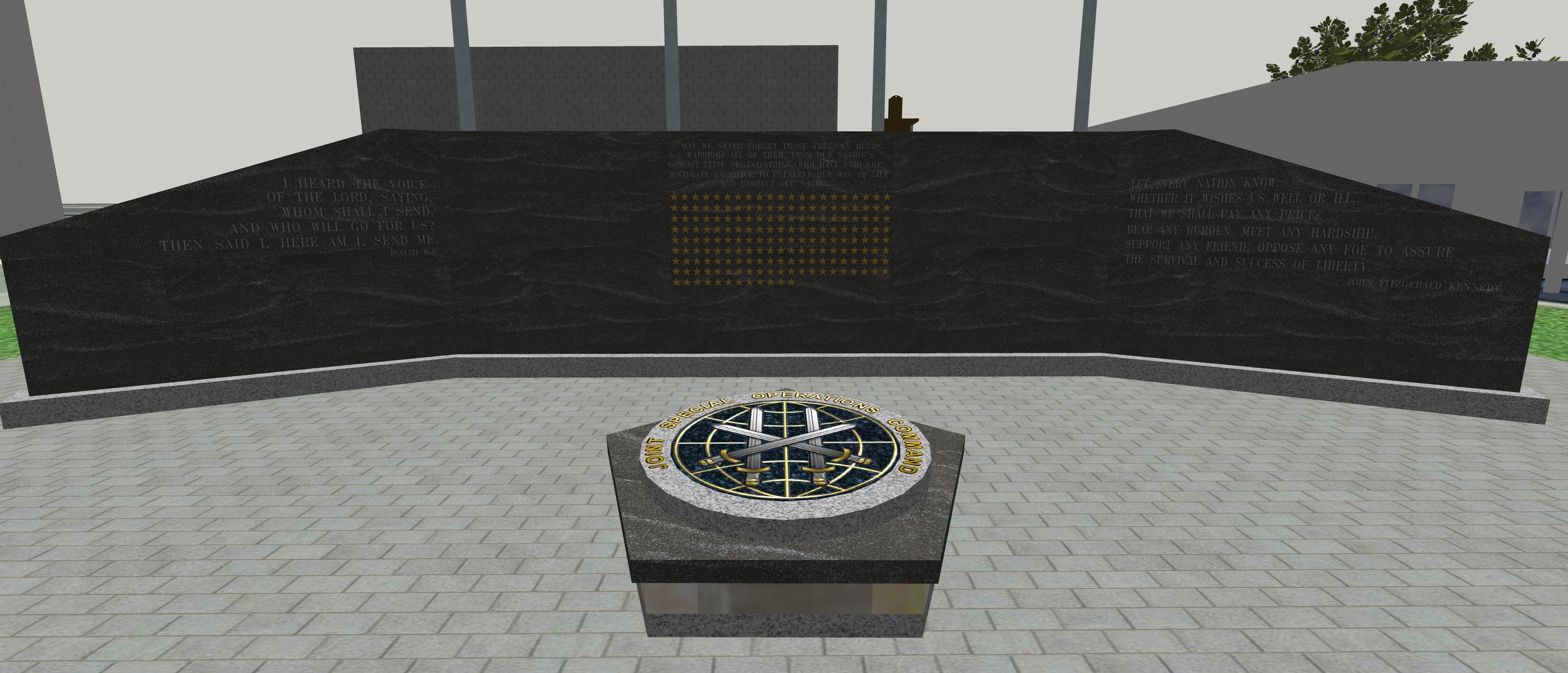 Memorial Wall Concept Art