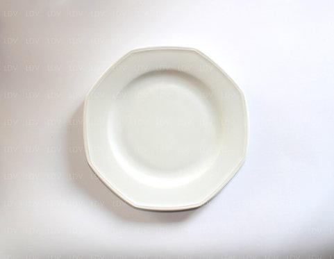 Assiette Octogonale Ø 17.50 cm
