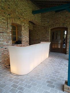 installation mobilier pour un événement par LDV vision & réception