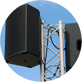 LDV vision & reception prestation de sonorisation enceintes
