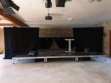 installation d'un événement par LDV vision & réception