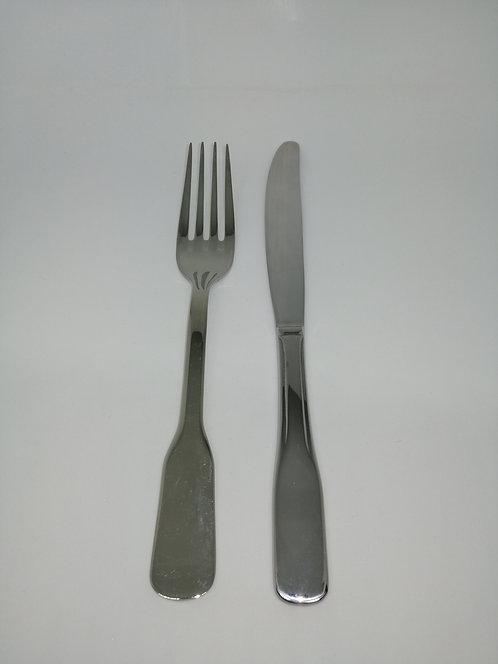 Fourchette ou Couteau de table Vieux Paris