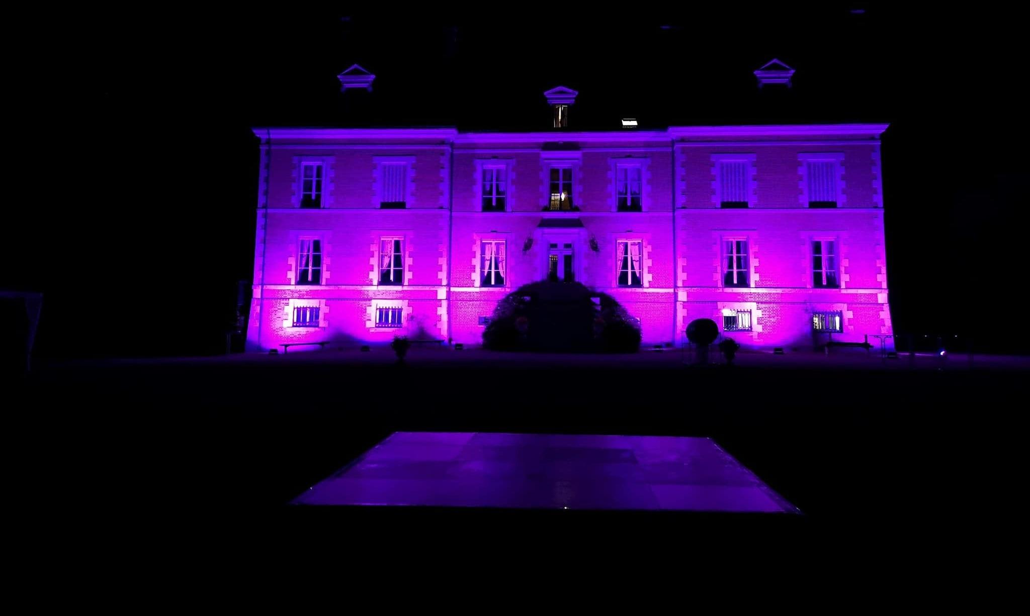 LDV vision & reception prestation lumière chateau