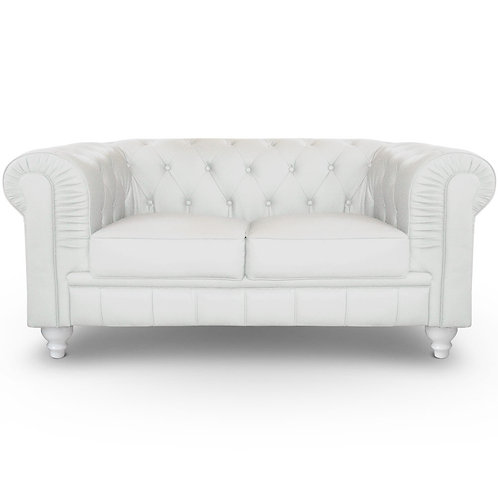 Location de canapé Chesterfield Blanc