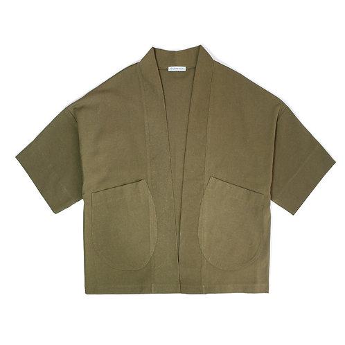 Oversize Khaki Kimono