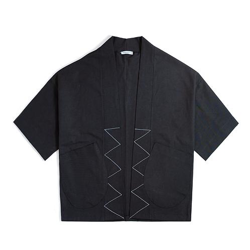 Oversize Black Kimono