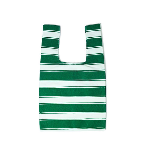 Canvas Green Shopping Tote Bag