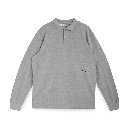 Polo Yaka Uzun Kollu Tshirt
