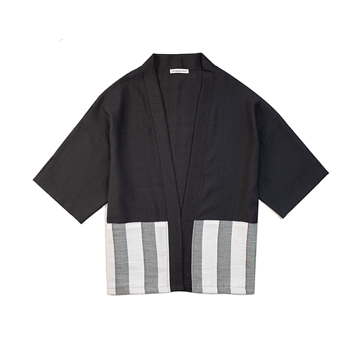 Oversize JABU Keten Kimono