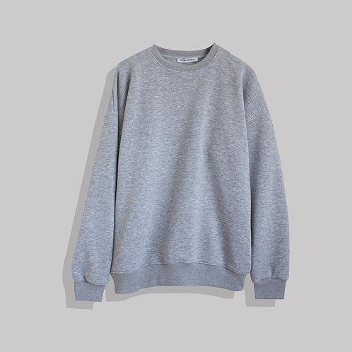 Oversize Gray Sweatshirt