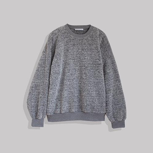 Gray Oversize Sweatshirt