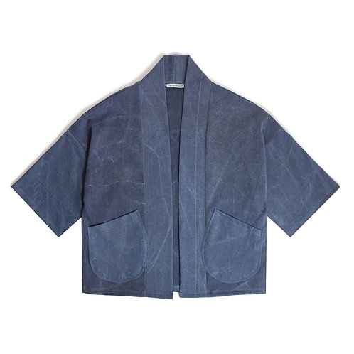 Oversize Indigo Wash Kimono