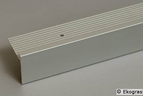 Aluminium L profiel 15,50 per mtr.