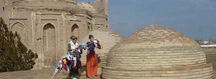 Saffraan Reizen  Konya Urgensh Turkmenistan