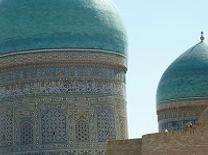 Turquoise koepels in Bukhara, Oezbekistan - Saffraan Reizen