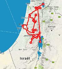 Route 10 daagse rondreis Palestina - Saffraan Reizen