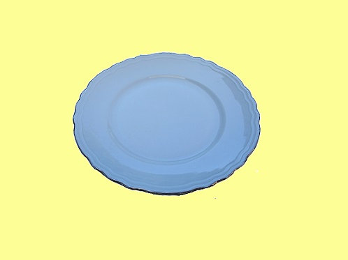 Dessertborden zilveren rand