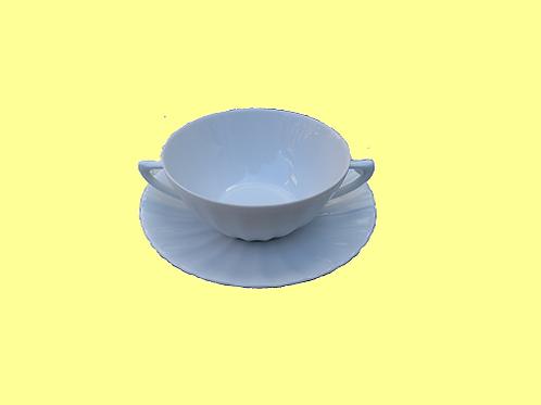 Soepkop-en-schotel Curvy