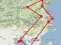 Route 11 daagse Tunesië rondreis - Saffraan Reizen