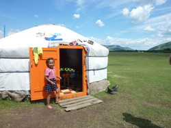 Mongolie ger