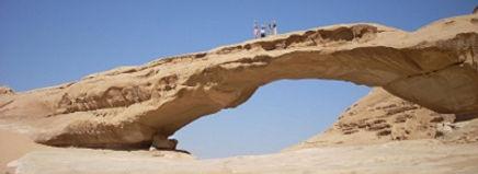Brug in Wadi Rum, Jordanië - Saffraan Reizen