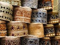 Omaansehoofddeksels - Saffraan Reizen