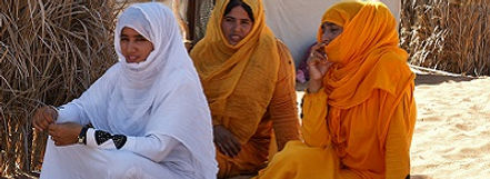 Vrouwen in Nizwa, Oman - Saffraan Reizen