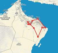 Route 10 daagse Oman - Saffraan Reizen