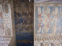 Tempel in Medinet Habu, West Bank, Luxor, Egypte- Saffraan Reizen