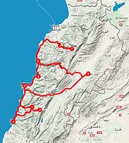 Route rondreis Libanon - Saffraan Reizen