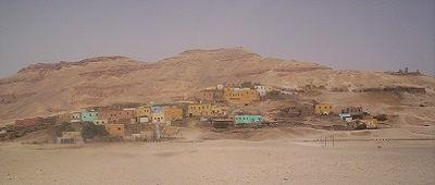 Vakantie Egypte - Dorpje in Thebe, Luxor, Egypte - Saffraan Reizen