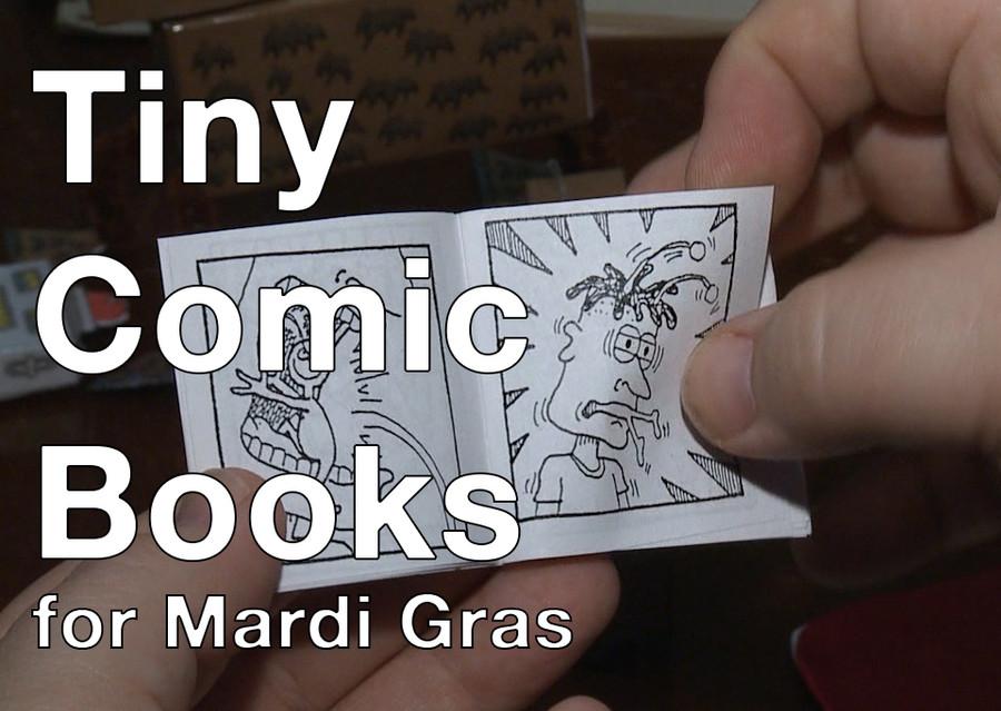 The Tiny Comic Book Guy