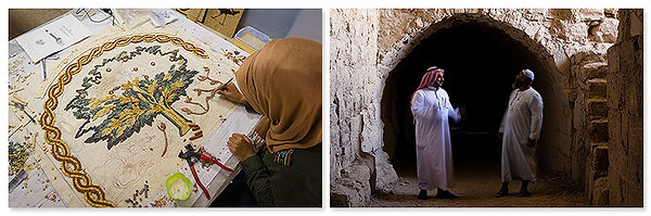 Mozaïekschool in Madaba en kasteel in Kerak, Jordanië - Saffraan Reizen