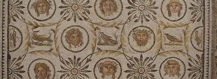 Mozaïek in het museum van El Jem, Tunesië - Saffraan Reizen