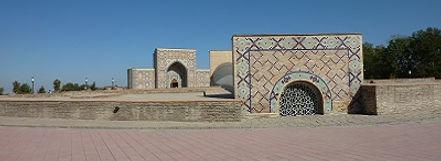 Ulugbeks Observatorium Samarkand Saffraan Reizen