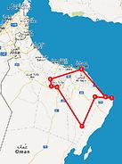 Route Ontdek Oman - Saffraan Reizen