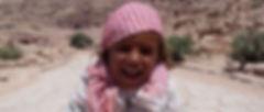 Vakantie Jordanië - Meisje in Petra, Jordanië - Saffraan Reizen
