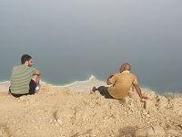 Dode Zee in de Rashaydeh woestijn, West Bank - Palestina - Saffraan Reizen