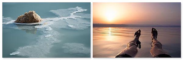 Zoutkristal en drijven in de Dode Zee, Jordanië - Saffraan Reizen