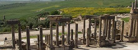 Romeins theater in Dougga, Tunesië - Saffraan Reizen