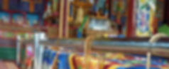 Mongolie Boedhistische tempel Saffraan Reizen