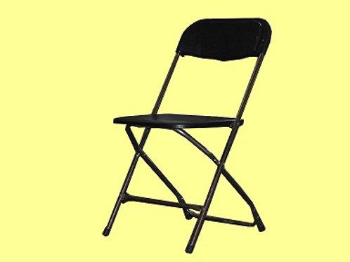 Klapstoelen zwart