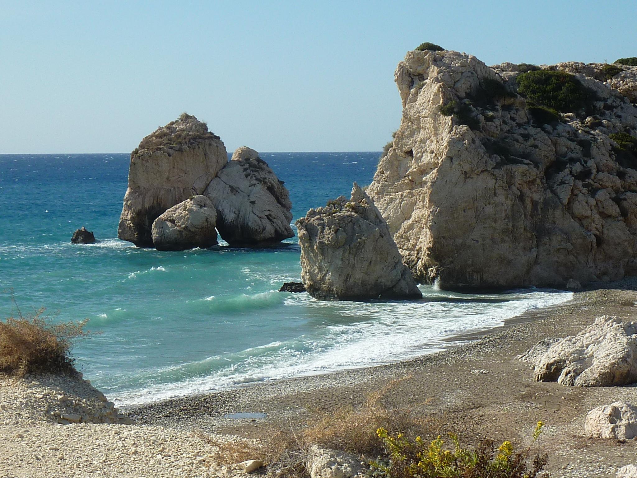 Cypr birth afrodite